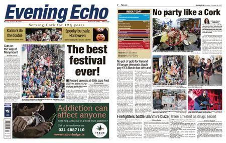 Evening Echo – October 30, 2017