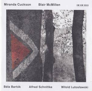 Miranda Cuckson & Blair McMillen - Bartok, Schnittke, Lutoslawski (2016) {ECM New Series 2446}