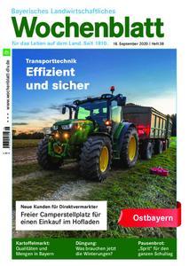 Bayerisches Landwirtschaftliches Wochenblatt Ostbayern - 17. September 2020