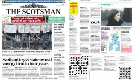 The Scotsman – October 11, 2017