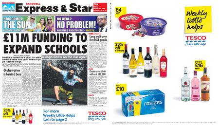 Express and Star Sandwell Edition – August 23, 2019