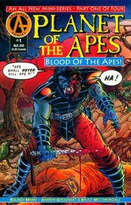 Planet of the Apes - Blood of the Apes 01 (of 4) (1992) (AC