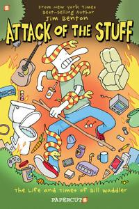 Papercutz-Attack Of The Stuff The Life And Times Of Bill Waddler 2021 Hybrid Comic eBook