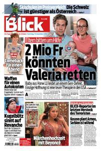 Blick – 15. Dezember 2018