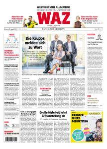 WAZ Westdeutsche Allgemeine Zeitung Oberhausen-Sterkrade - 29. August 2018