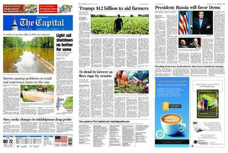 The Capital – July 25, 2018