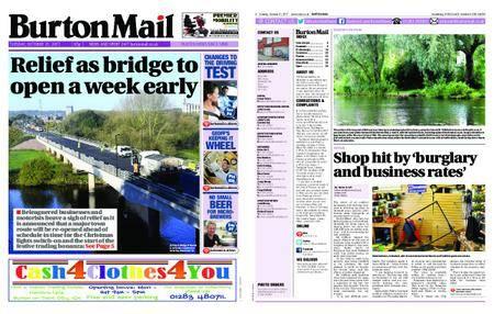 Burton Mail – October 31, 2017