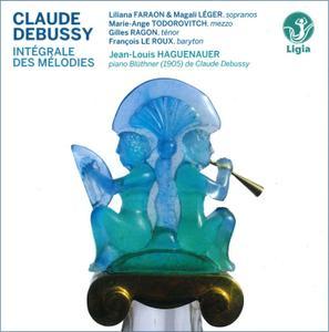 Jean-Louis Haguenauer, Soloists - Claude Debussy: Integrale des Melodies (Complete Songs) (2014) 4CD Box Set
