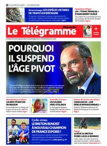 Le Télégramme Guingamp – 12 janvier 2020