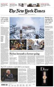 International New York Times - 5 December 2017