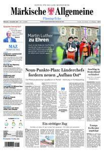 Märkische Allgemeine Fläming Echo - 01. November 2017