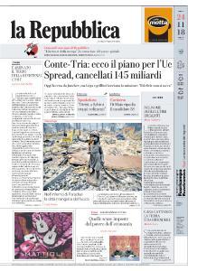 la Repubblica - 24 Novembre 2018