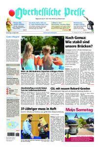 Oberhessische Presse Marburg/Ostkreis - 16. August 2018