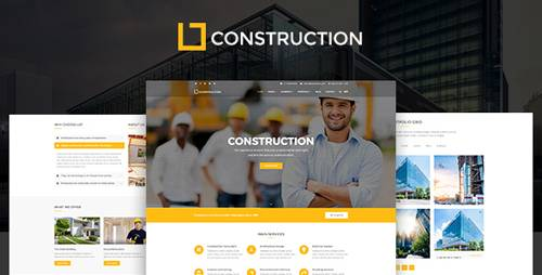 ThemeForest - Construction v1.3.1 - Construction Company, Building Company Template - 19527942