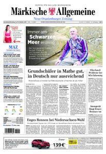 Neue Oranienburger Zeitung - 14. Oktober 2017