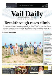 Vail Daily – July 30, 2021