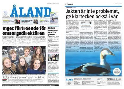 Ålandstidningen – 17 mars 2018