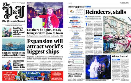 The Press and Journal Moray – November 26, 2018