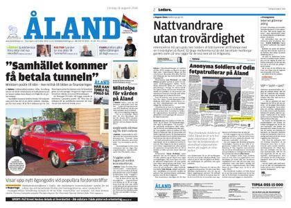 Ålandstidningen – 18 augusti 2018