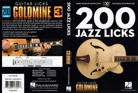 Guitar Licks Goldmine - 200 Jazz Licks [repost]