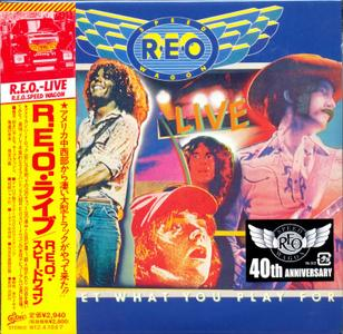 REO Speedwagon - Live: You Get What You Play For (1977) {2011, 40th Anniversary Edition, Remastered, Japan} Repost