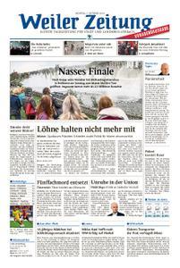 Weiler Zeitung - 07. Oktober 2019
