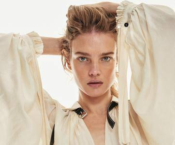 Natalia Vodianova by Chris Colls for InStyle US March 2018