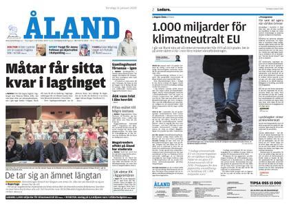 Ålandstidningen – 16 januari 2020