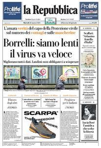 la Repubblica - 24 Marzo 2020
