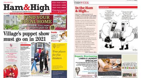 Ham & High – September 24, 2020