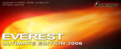 EVEREST Ultimate Edition 2006 3.80.926 Beta