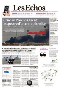 Les Echos du Mardi 17 Septembre 2019