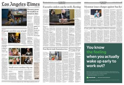 Los Angeles Times – February 04, 2021
