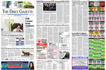 The Daily Gazette – November 05, 2018