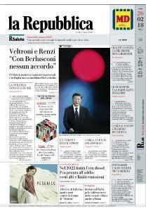 la Repubblica - 26 Febbraio 2018