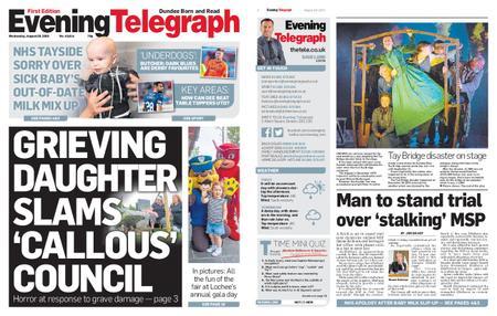 Evening Telegraph First Edition – August 28, 2019