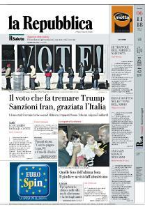 la Repubblica - 6 Novembre 2018