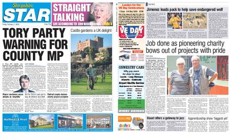 Shropshire Star Shrewsbury Edition – February 07, 2020