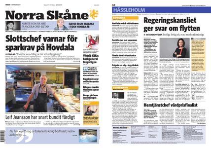 Norra Skåne – 18 september 2019