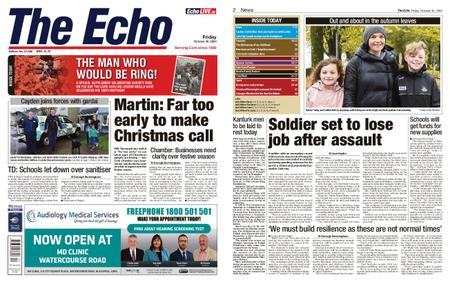 Evening Echo – October 30, 2020