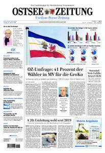 Ostsee Zeitung Wolgast - 19. Januar 2018