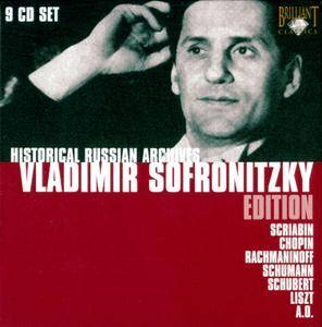 Vladimir Sofronitzky - Historical Russian Archives: Vladimir Sofronitzky Edition (2008) 9CD Box Set [Re-Up]