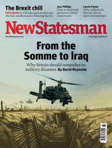 New Statesman - 12 - 18 August 2016