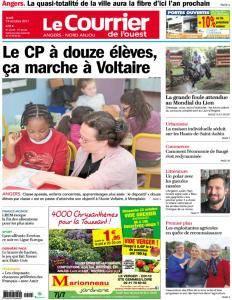 Le Courrier de l'Ouest Nord Anjou - 19 Octobre 2017
