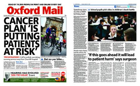 Oxford Mail – March 21, 2019