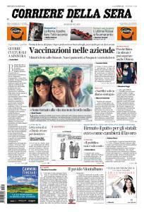Corriere della Sera - 11 Marzo 2021
