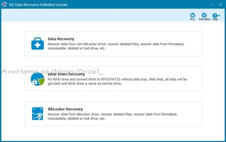 M3 Data Recovery 5.0