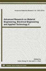 Advanced Research on Material Engineering, Electrical Engineering and Applied Technology II
