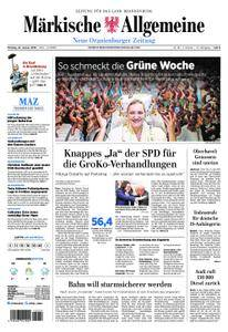 Neue Oranienburger Zeitung - 22. Januar 2018
