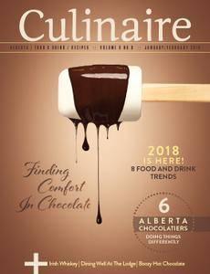 Culinaire Magazine - January-February 2018